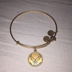 Alex and Ani Gold Air Force Bracelet
